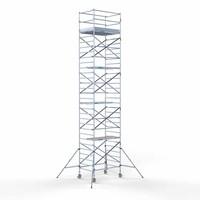 Euroscaffold Rolsteiger Compleet 135 x 190 x 10,2m werkhoogte