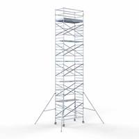 Euroscaffold Rolsteiger compleet 135 x 250 x 12,2m werkhoogte