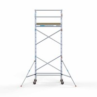 Euroscaffold Basis rolsteiger 90 x 190 x 6,2m  + extra platform