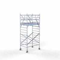 Euroscaffold Rolsteiger Compleet 135 x 190 x 5,2m werkhoogte incl. dubbele voorloopleuning