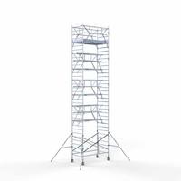 Euroscaffold Rolsteiger Compleet 135 x 250 x 11,2m werkhoogte incl. dubbele voorloopleuning
