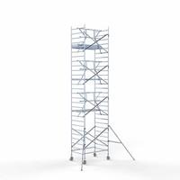 Euroscaffold Rolsteiger Compleet  135 x 190 x 9,2m werkhoogte + enkele voorloopleuning