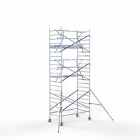 Euroscaffold Rolsteiger Compleet  135 x 250  x 7,2m werkhoogte + enkele voorloopleuning