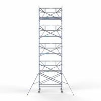 Euroscaffold Rolsteiger Compleet  135 x 250 x 10,2m werkhoogte + enkele voorloopleuning