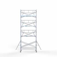 Euroscaffold Rolsteiger Compleet  135 x 305 x 9,2m werkhoogte + enkele voorloopleuning