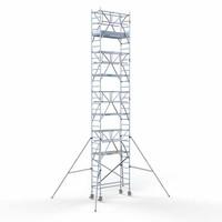 Euroscaffold Rolsteiger Compleet 75 x 190 x 10,2m werkhoogte incl. dubbele voorloopleuning