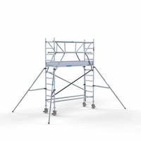 Euroscaffold Rolsteiger Compleet 75 x 250 x 4,2m werkhoogte + dubbele voorloopleuning