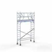 Euroscaffold Rolsteiger Compleet 75 x 250 x 5,2m werkhoogte incl. dubbele voorloopleuning