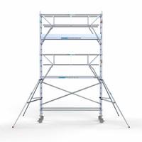 Euroscaffold Rolsteiger Compleet 75 x 305 x 6,2m werkhoogte incl. dubbele voorloopleuning