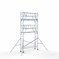 Euroscaffold Rolsteiger Compleet 75 x 305 x 7,2m werkhoogte incl. dubbele voorloopleuning