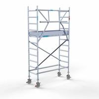 Euroscaffold Rolsteiger Compleet  75 x 190 x 4,2m werkhoogte + enkele voorloopleuning