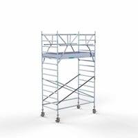 Euroscaffold Rolsteiger Compleet 135 x 250 x 5,2m incl. lichtgewicht platform + dubbele voorloopleuning