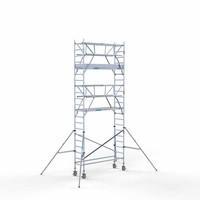 Euroscaffold Rolsteiger Compleet 75 x 250 x 7,2m incl. lichtgewicht platform + dubbele voorloopleuning
