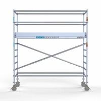 Euroscaffold Rolsteiger Compleet 90 x 305 x 4,2m werkhoogte