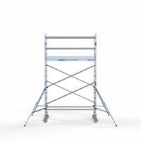 Euroscaffold Rolsteiger Compleet 90 x 250 x 5,2m werkhoogte met lichtgewicht platform