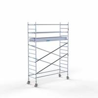 Euroscaffold Rolsteiger Compleet 90 x 305 x 5,2m werkhoogte met lichtgewicht platform