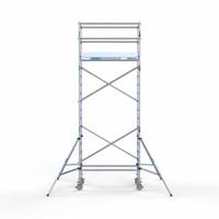 Euroscaffold Rolsteiger Compleet 90 x 190 x 6,2m werkhoogte met lichtgewicht platform