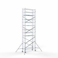 Euroscaffold Rolsteiger Compleet 90 x 250 x 9,2m werkhoogte met lichtgewicht platform