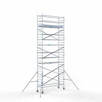 Euroscaffold Rolsteiger Compleet 90 x 305 x 9,2m werkhoogte met lichtgewicht platform