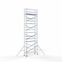 Euroscaffold Rolsteiger 90x305x11,2m werkhoogte incl carbon decks