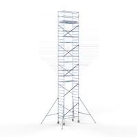Euroscaffold Rolsteiger 90x190x12,2m werkhoogte incl carbon decks