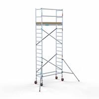 Euroscaffold Basis Rolsteiger 75 x 190 x 6,2 meter werkhoogte met lichtgewicht platform
