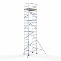 Euroscaffold Basis rolsteiger 135 x 190 x 10,2m werkhoogte met lichtgewicht platform