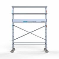 Euroscaffold Rolsteiger Compleet 75 x 250 x 4,2m werkhoogte