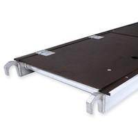 Euroscaffold Rolsteiger Compleet 75 x 250 x 5,2m werkhoogte met lichtgewicht platform