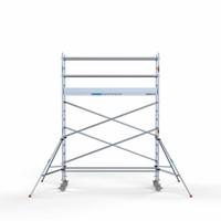 Euroscaffold Rolsteiger Compleet 75 x 305 x 5,2m werkhoogte met lichtgewicht platform