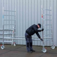 Euroscaffold Rolsteiger Compleet 75 x 190 x 7,2m werkhoogte
