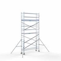 Euroscaffold Rolsteiger Compleet 75 x 305 x 7,2m werkhoogte
