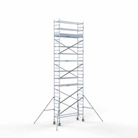 Euroscaffold Rolsteiger Compleet 75 x 250 x 9,2m werkhoogte