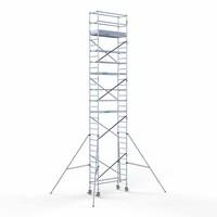 Euroscaffold Rolsteiger Compleet 75 x 190 x 10,2m werkhoogte met lichtgewicht platform