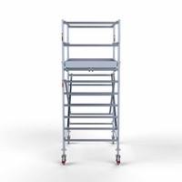 Euroscaffold Rolsteiger Compleet 135 x 190 x 4,2m werkhoogte met lichtgewicht platform