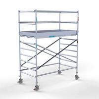 Euroscaffold Rolsteiger Compleet 135 x 250 x 4,2m werkhoogte met lichtgewicht platform