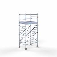 Euroscaffold Rolsteiger Compleet 135 x 190 x 5,2m werkhoogte met lichtgewicht platform