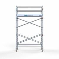 Euroscaffold Rolsteiger Compleet 135 x 305 x 6,2m werkhoogte met lichtgewicht platform