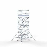 Euroscaffold Rolsteiger Compleet 135 x 190 x 7,2m werkhoogte