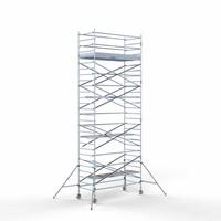 Euroscaffold Rolsteiger Compleet 135 x 305 x 9,2m werkhoogte