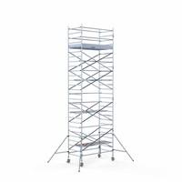 Euroscaffold Rolsteiger Compleet 135 x 250 x 9,2m werkhoogte met lichtgewicht platform