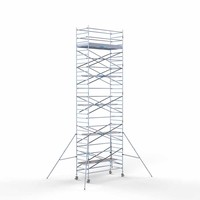 Euroscaffold Rolsteiger Compleet 135 x 305 x 11,2m werkhoogte