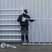 Euroscaffold Rolsteiger Compleet 135 x 190 x 11,2m werkhoogte met lichtgewicht platform