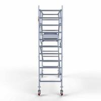Euroscaffold Rolsteiger Compleet 90 x 305 x 4,2m werkhoogte + dubbelzijdige voorloopleuningen