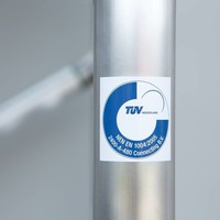 Euroscaffold Rolsteiger Compleet carbondeck 90 x 250 x 5,2m werkhoogte + dubbelzijdige voorloopleuningen
