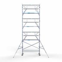 Euroscaffold Rolsteiger Compleet 90 x 250 x 8,2m werkhoogte + dubbelzijdige voorloopleuningen