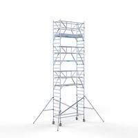 Euroscaffold Rolsteiger Compleet 90 x 250 x 9,2m werkhoogte + dubbelzijdige voorloopleuningen