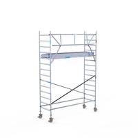 Euroscaffold Rolsteiger Compleet carbondeck 90 x 305 x 5,2m werkhoogte + enkelzijdige voorloopleuningen