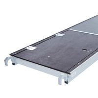 Euroscaffold Rolsteiger Compleet 90 x 305 x 10,2m werkhoogte + enkelzijdige voorloopleuningen