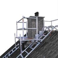 Euroscaffold Dak- schoorsteensteiger compleet 190 cm